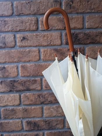 雨に濡れた傘を玄関に置いていると、玄関全体が湿気てしまいニオイの原因に。 また、傘が完全に乾かないまましまっていると傘自体に雑菌が繁殖して嫌なニオイが発生してしまう場合もあります。