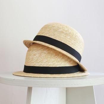 """CLASKA Gallery & Shop """"DO"""" オリジナルの麦わら帽子です。ベーシックでシンプルな麦わら帽子は、そのままお部屋に飾って、インテリアとしてもお洒落に見えますよね。"""