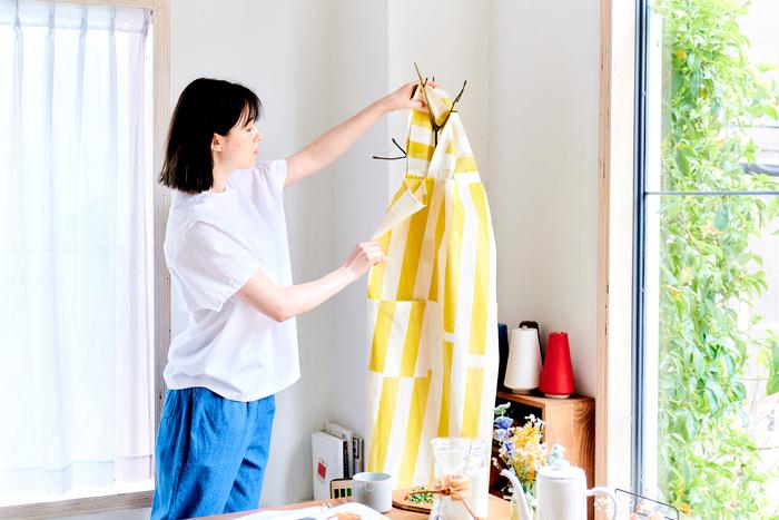 【連載】cocca×キナリノ「素敵な布ではじめるソーイング」  vol.4-エプロン&ランチョンマット