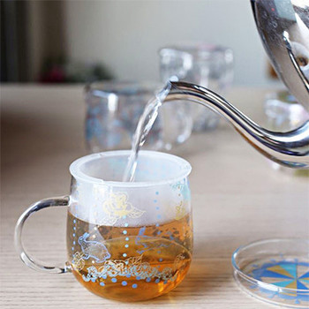 本格的な紅茶やハーブティーを楽しめるマグカップ。「ティーメイト」という名前の通り、まさにデスクワークのお供にぴったりです。絵柄も選べるので、ぜひお好みのものを探してみてください♪