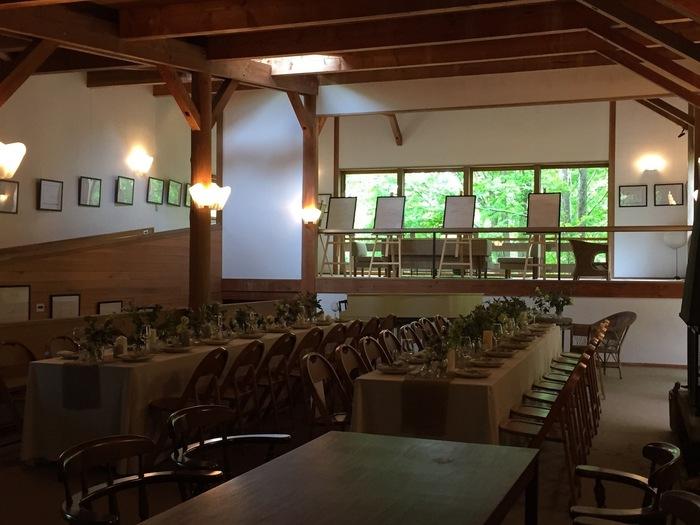 *吉村順三が設計した「ハーモニーハウス」をリノベーションした「エロイーズカフェ」(軽井沢)