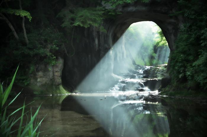 まるでジブリの世界。フォトジェニックな【濃溝の滝】へ出かけよう