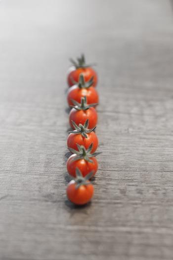 そこで今回は脇役の印象が強いミニトマトに焦点を当てた「プチトマトを使ったレシピ集」をご紹介したいと思います。