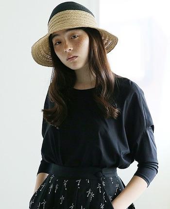 夏らしい帽子と言えば、麦わら帽。すでに手持ちのものがあるという方も多いと思いますが、今一度確認を。けばだっていたり、形が崩れていたら買い替え時です。新しく1つ手に入れるなら、とにかく軽くて快適で、ちょっとひねりの効いたデザインのものをセレクトしてみませんか?