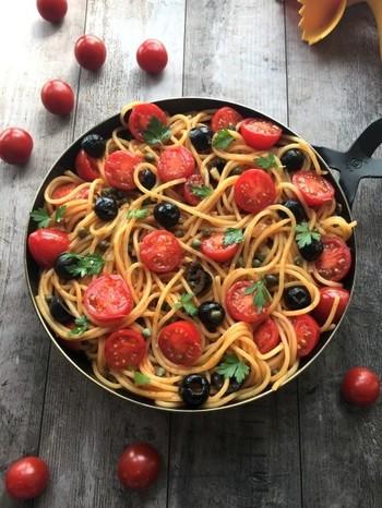 シンプルながら本場の味が再現できるレシピです。彩もよくおしゃれな一皿になります。