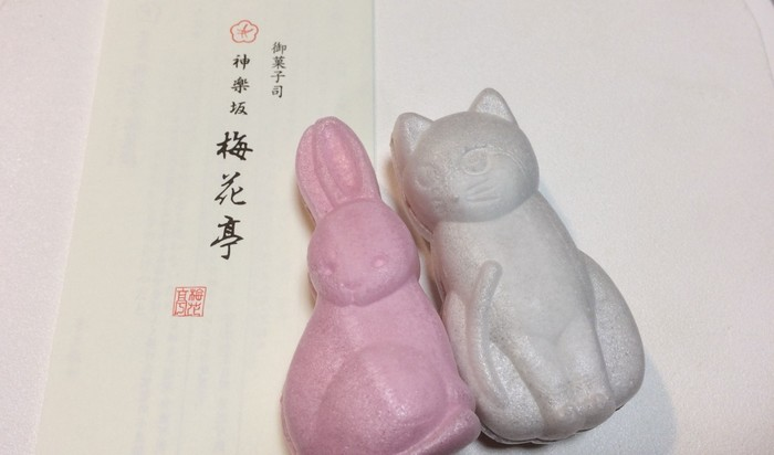 こちらのオススメ手土産は、愛くるしい表情がとってもキュートな干支モナカと猫モナカ。白猫はこしあん、ピンクウサギは白あんが入っており、可愛いながらも老舗が守る伝統的で美味しい最中を味わうことができます。動物好きなあの人への手土産にオススメです。