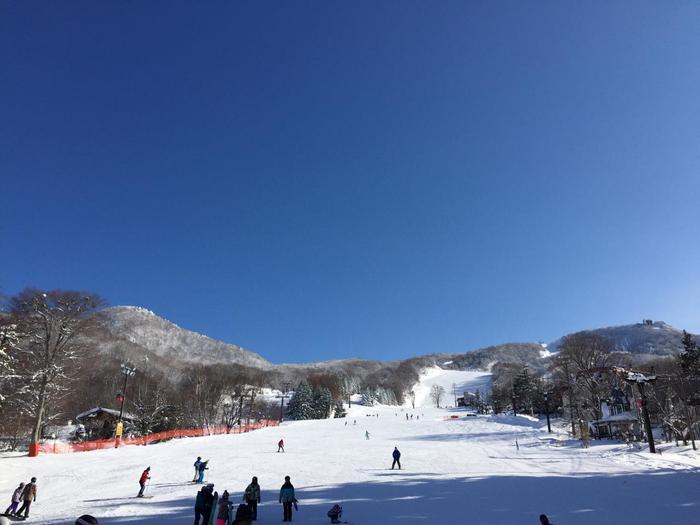 比較的アクセスしやすいのが、ゲレンデのひとつ、こちらの「上の台ゲレンデ」。蔵王温泉バスターミナルから徒歩約10分。温泉街のすぐ上部に位置していますよ。  積雪が多いエリアへ足を運べば「樹氷」を見ることも。「蔵王温泉スキー場」は滑るだけじゃない楽しみ方もたくさんあります。