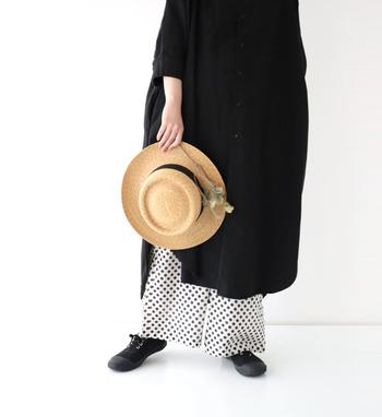 着こなしのアクセントになるおしゃれな「柄物」は、シンプルになりがちな夏の装いを今年らしく、より新鮮に見せてくれます。 クラシカルな雰囲気のチェック柄に大人可愛いドット柄、爽やかなストライプ柄や華やかなフラワープリントなど。 さっそくお気に入りの「柄物」を取り入れて、季節感あふれる旬の着こなしを楽しんでみませんか?