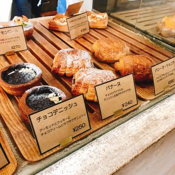 「KOUB」のパンは、どれもこれも美味しいと評判ですが、それもそのはず。果物、牛乳やはちみつは全て山形県産を使用するというこだわりなんです!