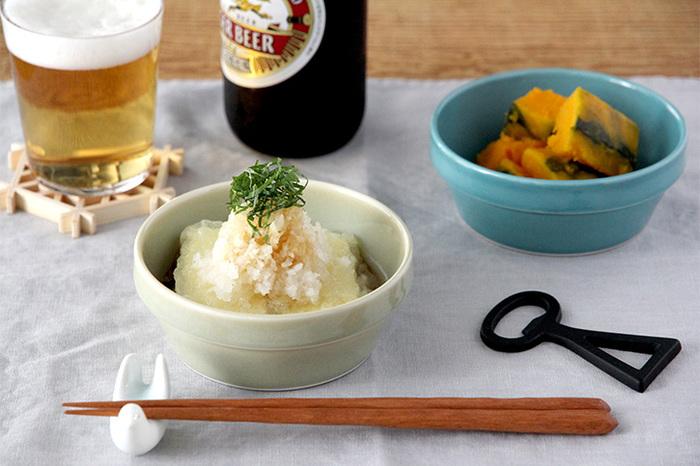 グラノーラの他に、小鉢として和食の副菜をよそっても◎。適度な深みが汁気の多いメニューも任せられて使いやすい。