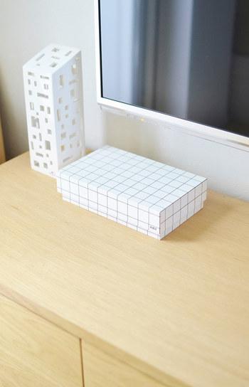 こんな風にナチュラルな雰囲気のBOXに入れるだけで、雰囲気がガラリと変わります。最近では100円ショップでも、お洒落なBOXが販売されていますので、活用してみてはいかがでしょう!