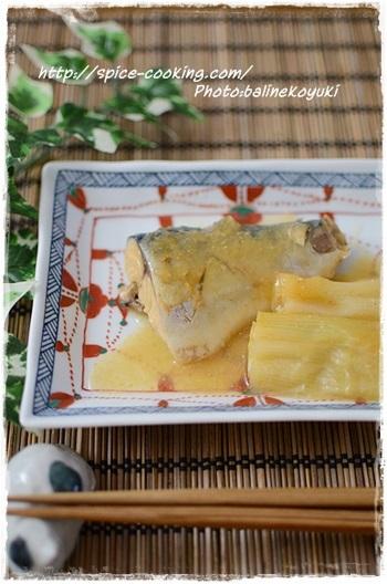 和食の定番「さばの味噌煮」も、圧力鍋を使えば時短で美味しく調理できますよ◎。こちらは白みそに、ゴマやコチュジャンを加えた風味豊かな一品。圧力鍋の種類によって多少加圧時間が異なりますが、手早く作れるので朝食や晩ご飯のおかずにぜひおすすめです。