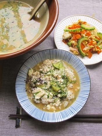 サラサラの喉ごし。暑い夏に食べたい「冷や汁」基本の作り方と簡単アレンジレシピ♪