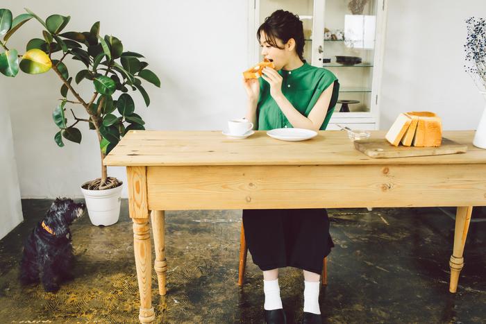【連載】BOUL'ANGE × キナリノ「パンのある暮らし」 最終回 - やっぱり食パンが好き。