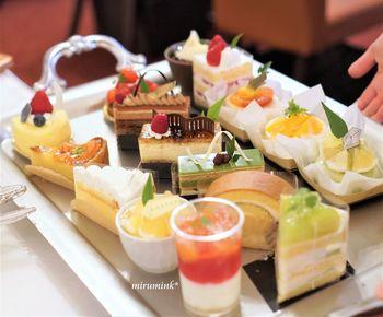 自家製ケーキは、様々な種類があります。季節限定のケーキもあるので、リピートしてみるのもオススメです。