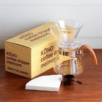 コーヒー好きの2人には、美味しいコーヒーを飲むためのツールもよさそうです。コーヒーを飲む時間も楽しんでねというメッセージもこめて、長く使えるものやセットになっているものなどを選んでみてはいかがでしょう。