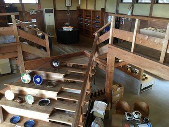 昭和22年から制作を始めた窯。柳宗悦をはじめとする民藝運動の流れをくむ、素朴で温かみのある日常の器を作りつづけています。