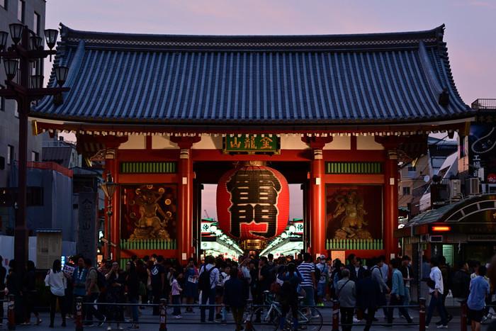 東京の中でも浅草エリアは下町の雰囲気が残り、雷門や東京スカイツリーなどの観光名所も数多くあります。国内だけでなく、海外の観光客にも人気のエリアです。