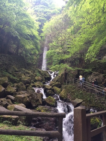 養老老子伝説の滝、「養老の滝」で知られている岐阜県養老郡養老町。この滝のそばで、若返りの水が湧いたという伝説があるそうですよ。「養老温泉」は神秘的な魅力を感じるパワースポットです。  ※こちらの画像は、養老の滝