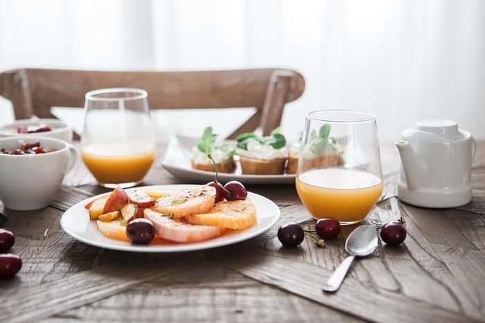 代表的な朝食