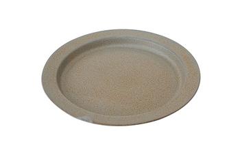 ちょっとザラザラした様な風合いで、アンティークっぽささえ感じる美濃焼 Ancient Potteryシリーズ。同じお皿なのに、光の当たり方で印象が変わるプレートです。