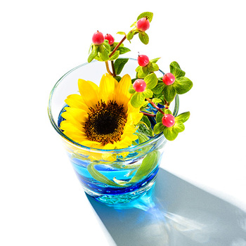 こだわりのデザインが光る、夏にぴったりの「飲み物グラス」特集