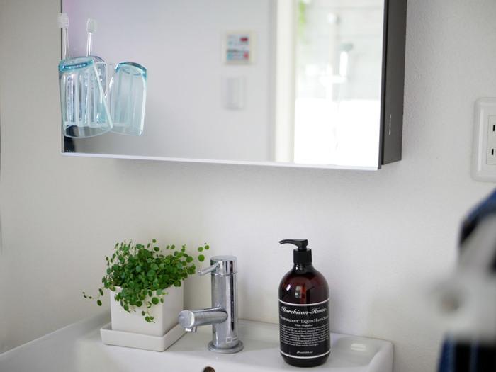 """""""使いやすさ""""と""""おしゃれ""""のバランスがいい。洗面所を素敵に見せるデイリーアイテム"""