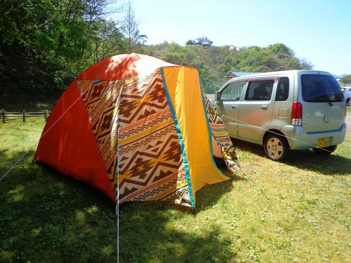 ペットと一緒にキャンプが可能なエリアもあるので、家族全員で夏のキャンプをぜひ満喫して*