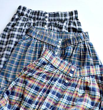 デザインだけでなく、素材や機能性にもこだわって作られたものが多い英仏ブランドのロングスカート。長年着る人を魅了してきた英仏ブランドで、ぜひお気に入りの一枚を探してみてくださいね。