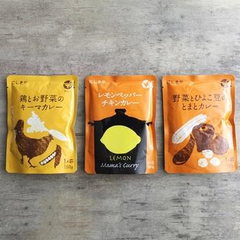1939年創業。宮城県岩沼市に本社・工場があるレトルト食品の専門メーカー「にしき食品」の、自社ブランドである「にしきや」。