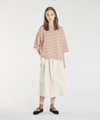 1930年にフランスで生まれたマリンTシャツブランド。1970~80年代にはフランス海軍の制服を提供していました。ピカソが愛用していたことでも有名です。