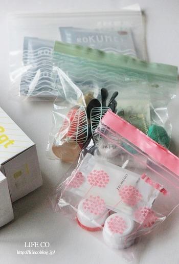 """IKEAのプラスチック袋""""ISTAD( イースタード)""""は本当に便利です。食材の保存用としてはもちろん、見た目も色鮮やかでかわいいので、旅行などの小分け袋としてもおすすめです。"""