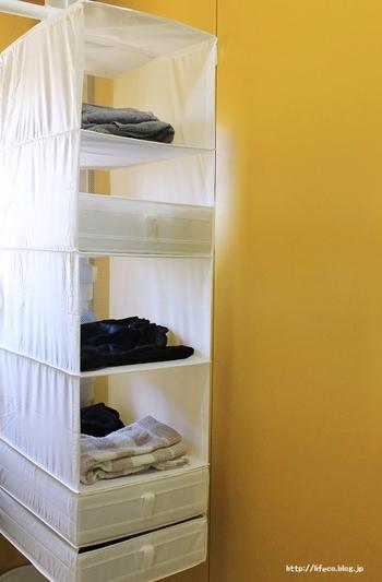 """""""SKUBB(スクッブ)""""シリーズは、収納の強い味方。中でも「収納6コンパートメント」は、クローゼットの中の収納や、洗濯周りの収納におすすめです。ありそうで無かったアイディアが詰まったアイテムです。白いシンプルなデザインもお洒落でかわいいですね。"""