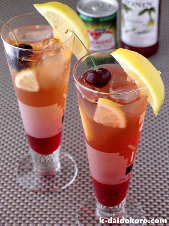 ノンアルコールで乾杯♪《モクテル×料理&スイーツ》の美味しいペアリング