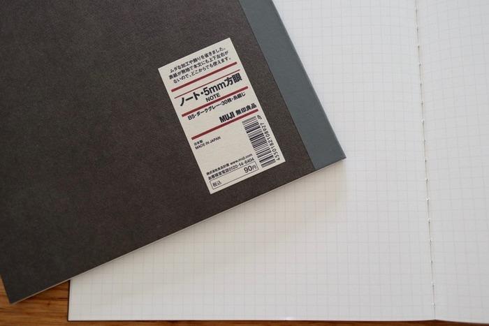 まずは一冊、大きめのノートやスケッチブックを準備しましょう。使いやすいのはA4サイズ。ハガキであれば1ページに4枚ほど貼ることができます。  また、もしも2冊目、3冊目・・・と作り続けるときのために、シンプルな定番のものをセレクトすると本棚に並べて置いたときの佇まいも美しく、スッキリしますよ。