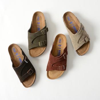 ベルトの太さなどのデザイン、カラーで印象が変わる「スポサン」。是非気に入った履き心地、デザインのものを選んで夏を快適に過ごして下さい♪