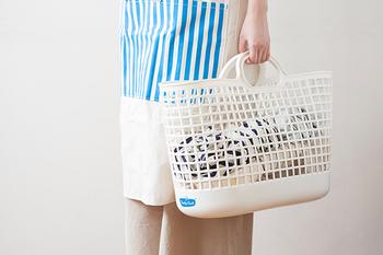 サイズはスリムとビックの2種類。スリムタイプは、複数個使いにもおすすめです。タオル類、デリケート衣類、色柄物など、分けておくと、洗濯の手間も減りそうですね! また、一人暮らしの方にもおすすめのサイズです。