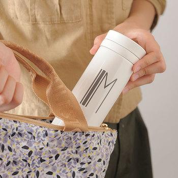 """ライフスタイルブランド""""BRUNO""""と、魔法瓶ブランド""""THERMOS""""社とのコラボデザインのタンブラー。"""