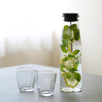 たっぷり作ってゴクゴク飲みたい!「水出し茶&フレーバーウォーター」の作り方