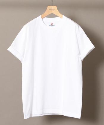 《暑い日》~《肌寒い日》をどうのりきる?気温別「白T」着まわしコーデ。