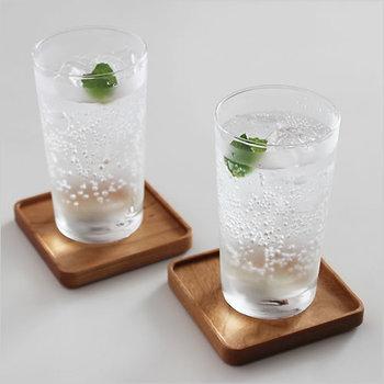 テーブルに「涼」を運んできてくれる「ガラス」の器で、暑い夏も涼しげに、爽やかに過ごしてみませんか?