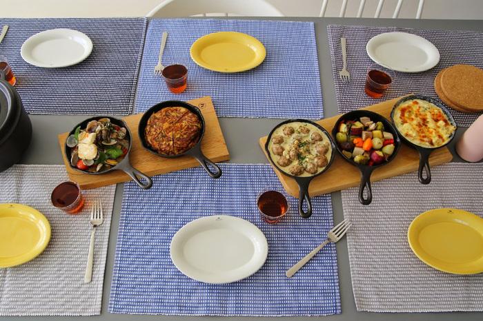 キャンプやアウトドアなど外で食べる際もそのままでオッケー。大皿に移す必要もなくみんなでワイワイ取り合うのも楽しめますよ。