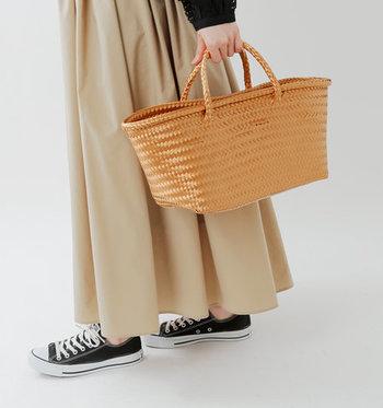 今夏の大本命!【メルカドバッグ&サイザルバッグ】コーデ&Want List