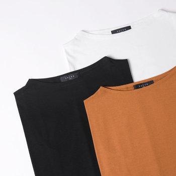 色はホワイト、ベージュブラウン、ブラックの3色展開。どれも使いやすい色なのでまとめ買いも◎。