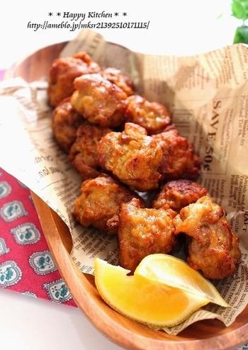 豚の唐揚げをお弁当やおつまみに!揚げ焼き~フライパンのレシピまで20選