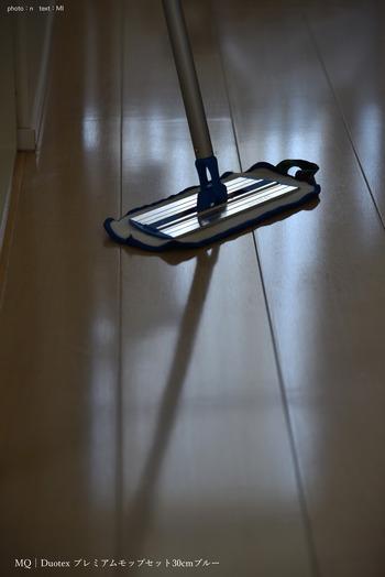 軽くて使いやすいモップなら、毎日、手軽に使えます。デザインの美しいモップはお掃除のモチベーションもアップしてくれます。