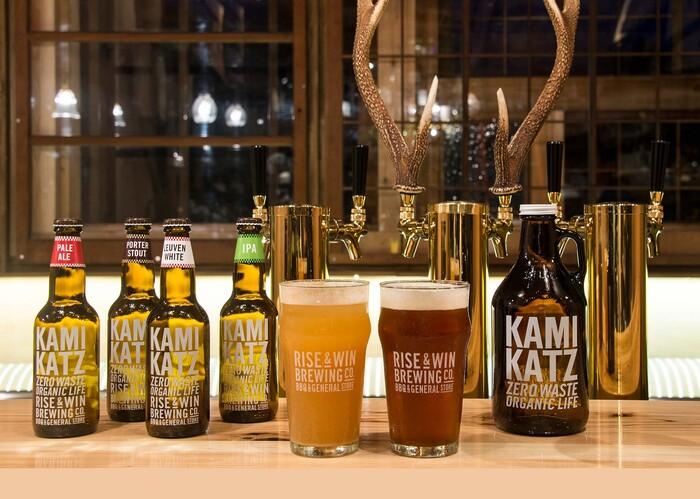 徳島県にある「ゼロウェイスト」を理念としたクラフトビール工場です。ペールエールなどの他、愛媛の甘夏やレモンなどの柑橘類を使ったビールが特徴的です。爽やかな夏にぴったりのビールですね。
