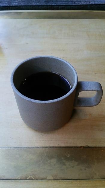 食後は、朝限定のコーヒーでまったり。和定食に合うように焙煎して淹れたコーヒーをいただきながら、朝から優雅に過ごしてみませんか?