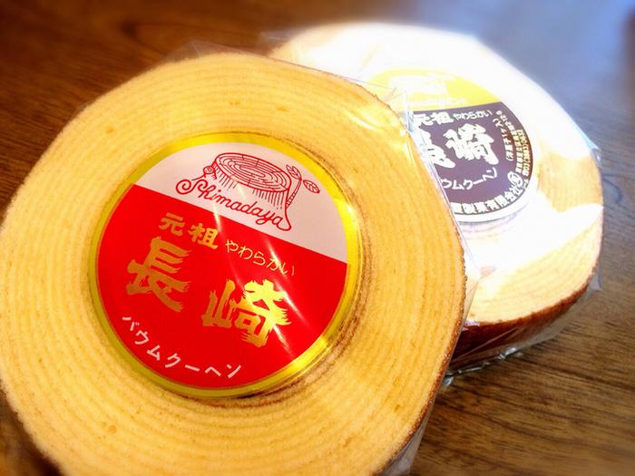 お店があるのは東京の下町、足立区南花畑。でもラベルには「長崎」の文字。元祖・長崎バウムクーヘンは、1973年の創業以来、バウムクーヘンひとすじの専門店として愛され続けてきました。