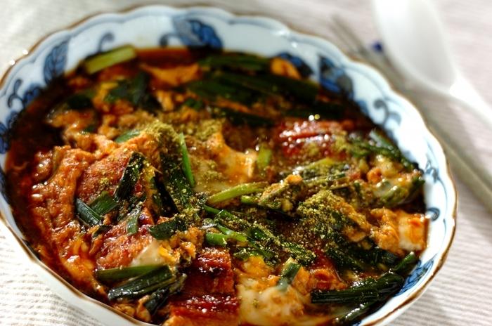 夏バテを乗り切りたいならこれ。ウナギとニラと卵という最強の組み合わせ食材でスタミナ満点!